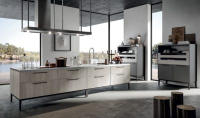 Modern Kitchen Arredo3 Aria Model 01 - 01