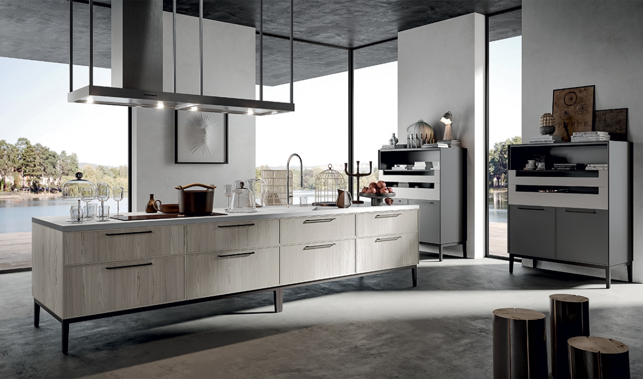 Modern Kitchen Arredo3 Aria Model 01