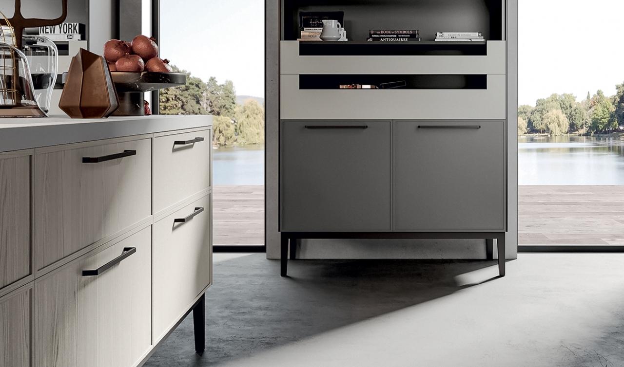 Modern Kitchen Arredo3 Aria Model 01 - 02