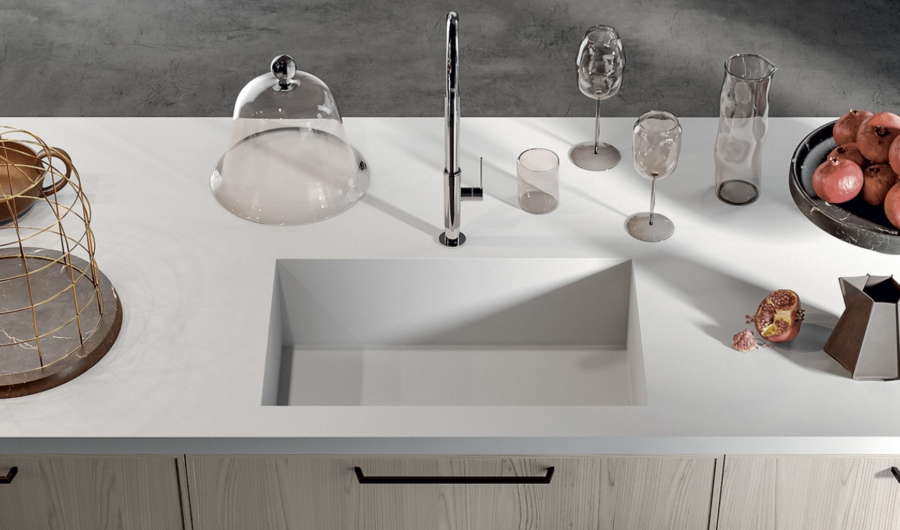 Modern Kitchen Arredo3 Aria Model 01 - 03