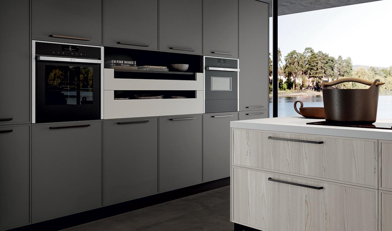 Modern Kitchen Arredo3 Aria Model 01 - 04