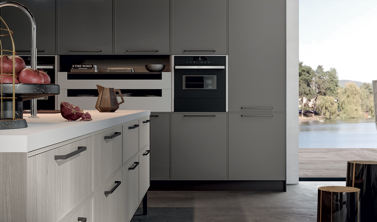 Modern Kitchen Arredo3 Aria Model 01 - 05