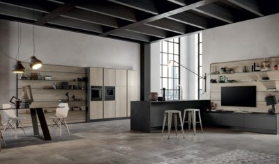 Modern Kitchen Arredo3 Aria Model 02 - 01