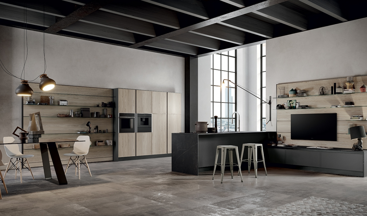 Modern Kitchen Arredo3 Aria Model 02