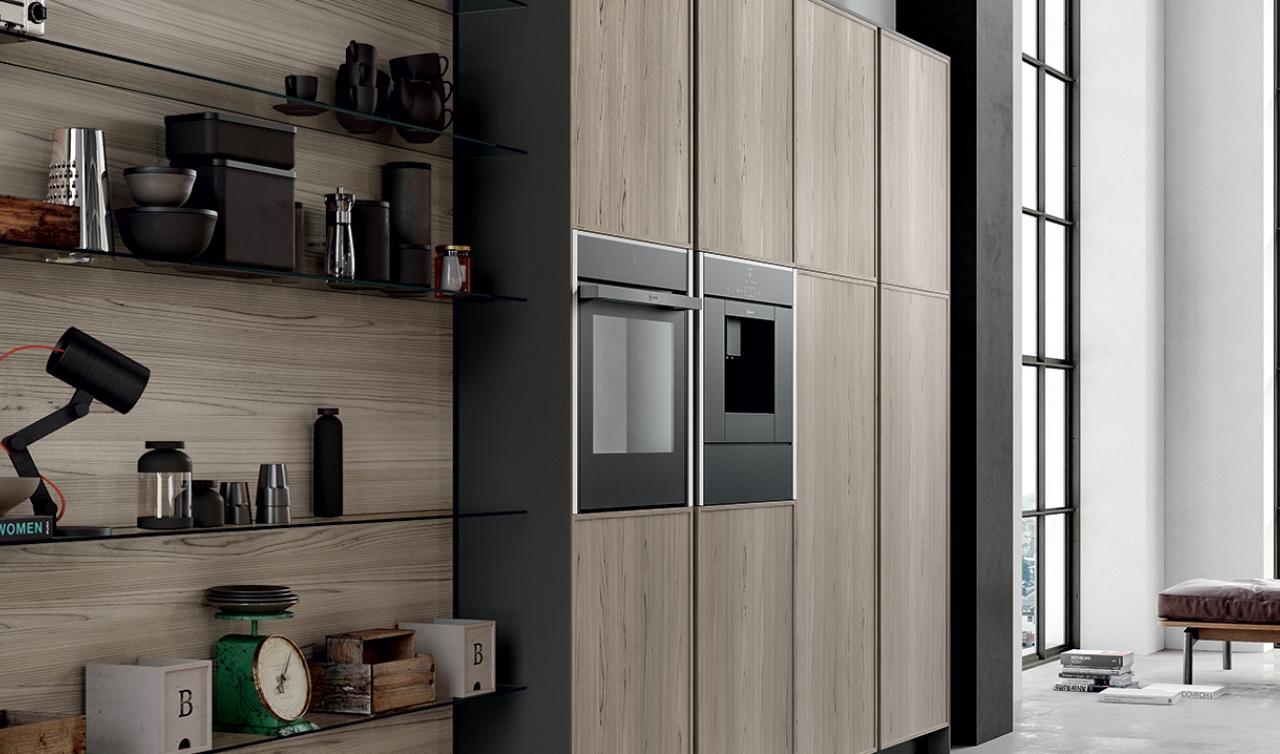 Modern Kitchen Arredo3 Aria Model 02 - 05