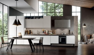 Modern Kitchen Arredo3 Aria Model 03 - 01