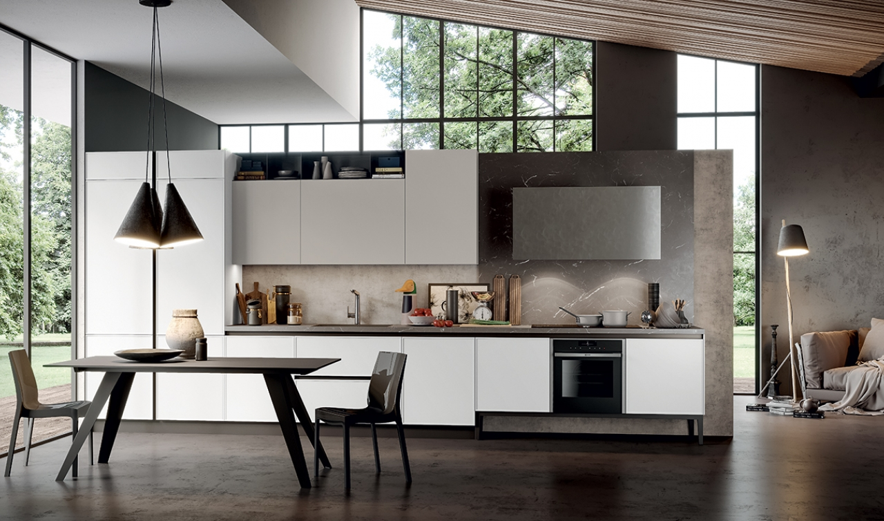 Modern Kitchen Arredo3 Aria Model 03
