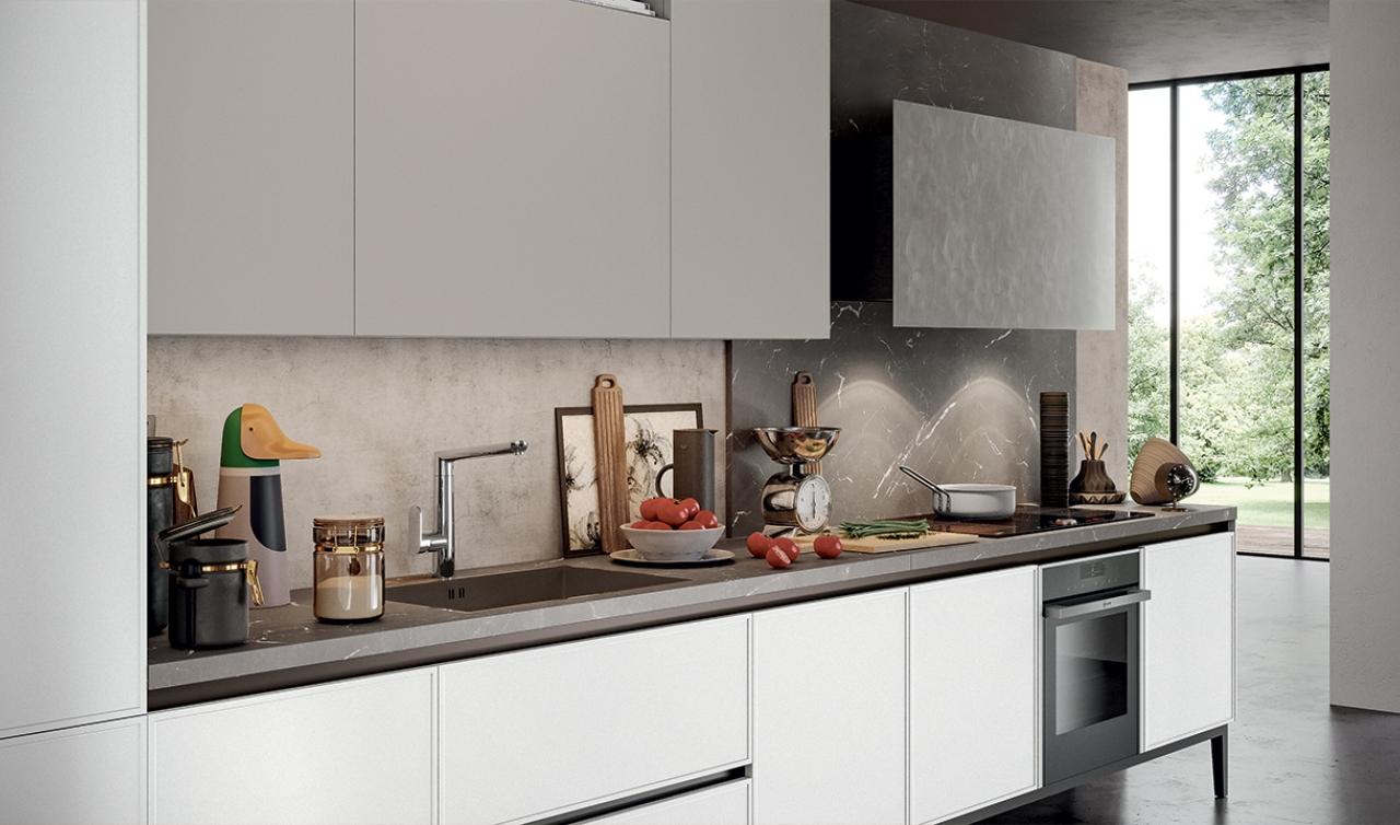 Modern Kitchen Arredo3 Aria Model 03 - 02