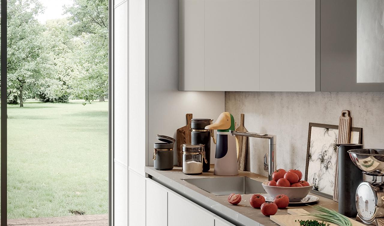 Modern Kitchen Arredo3 Aria Model 03 - 03