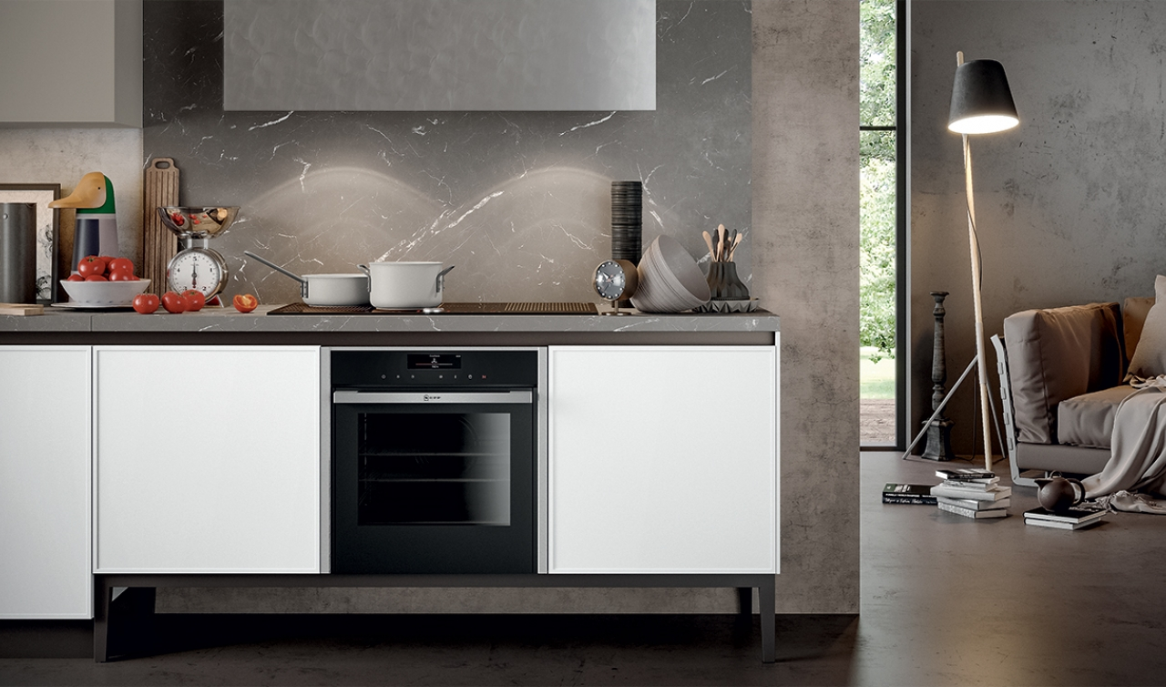 Modern Kitchen Arredo3 Aria Model 03 - 05