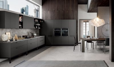 Modern Kitchen Arredo3 Aria Model 04 - 01