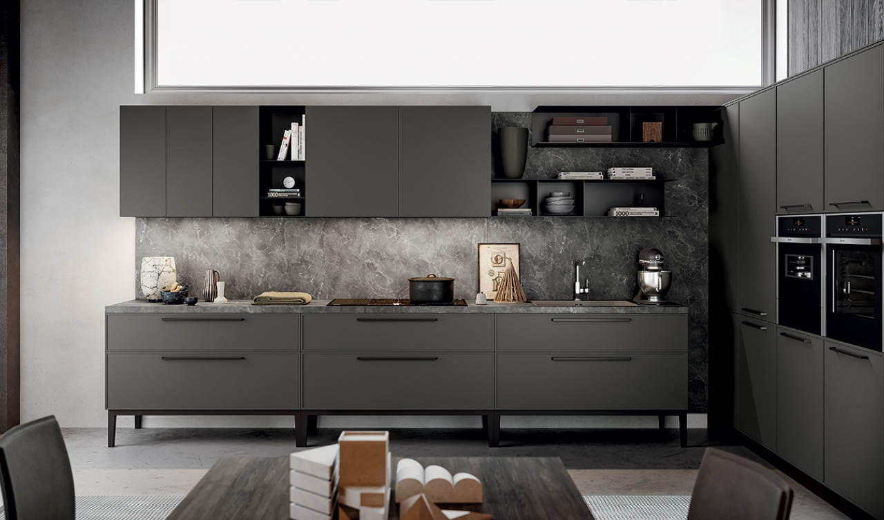 Modern Kitchen Arredo3 Aria Model 04 - 02
