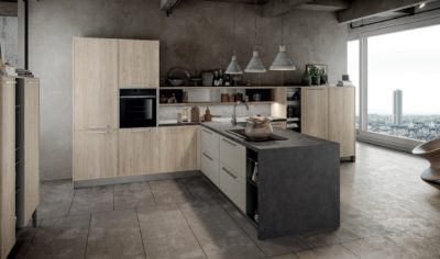 Modern Kitchen Arredo3 Aria Model 05 - 02
