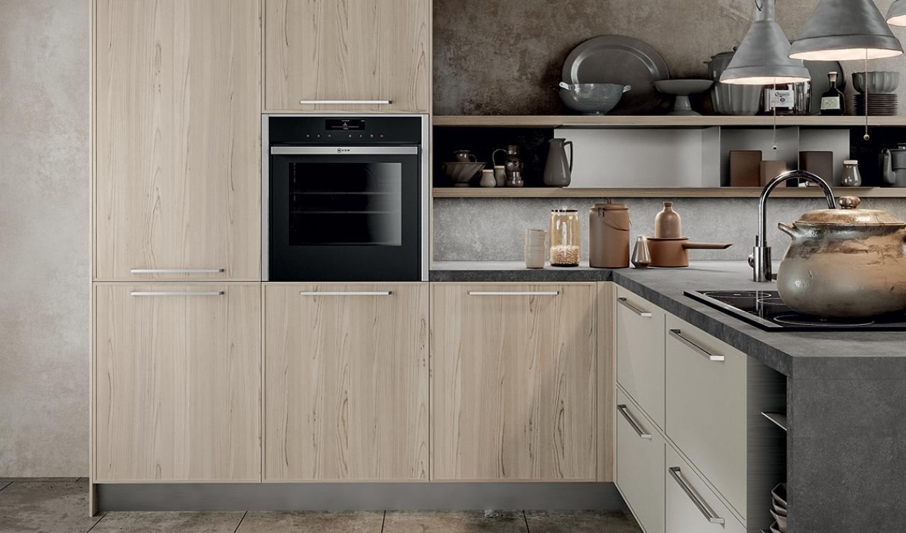 Modern Kitchen Arredo3 Aria Model 05 - 03