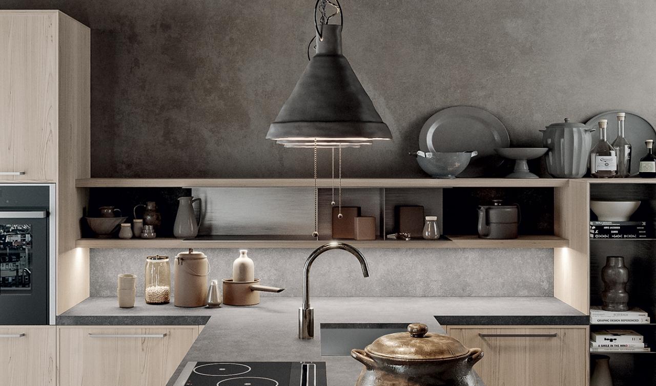 Modern Kitchen Arredo3 Aria Model 05 - 04