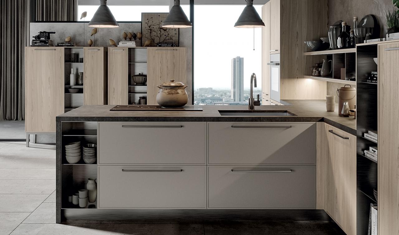 Modern Kitchen Arredo3 Aria Model 05 - 06