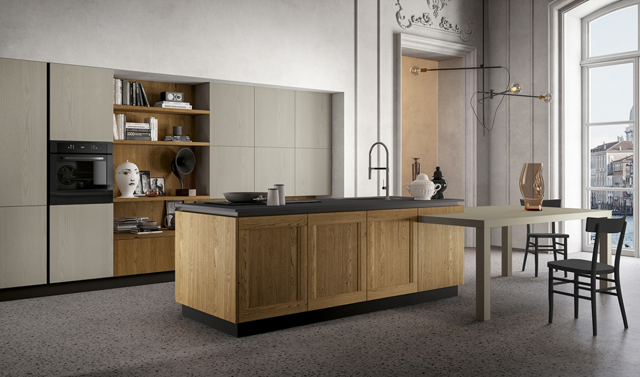 Modern Kitchen Arredo3 Asia Model 01