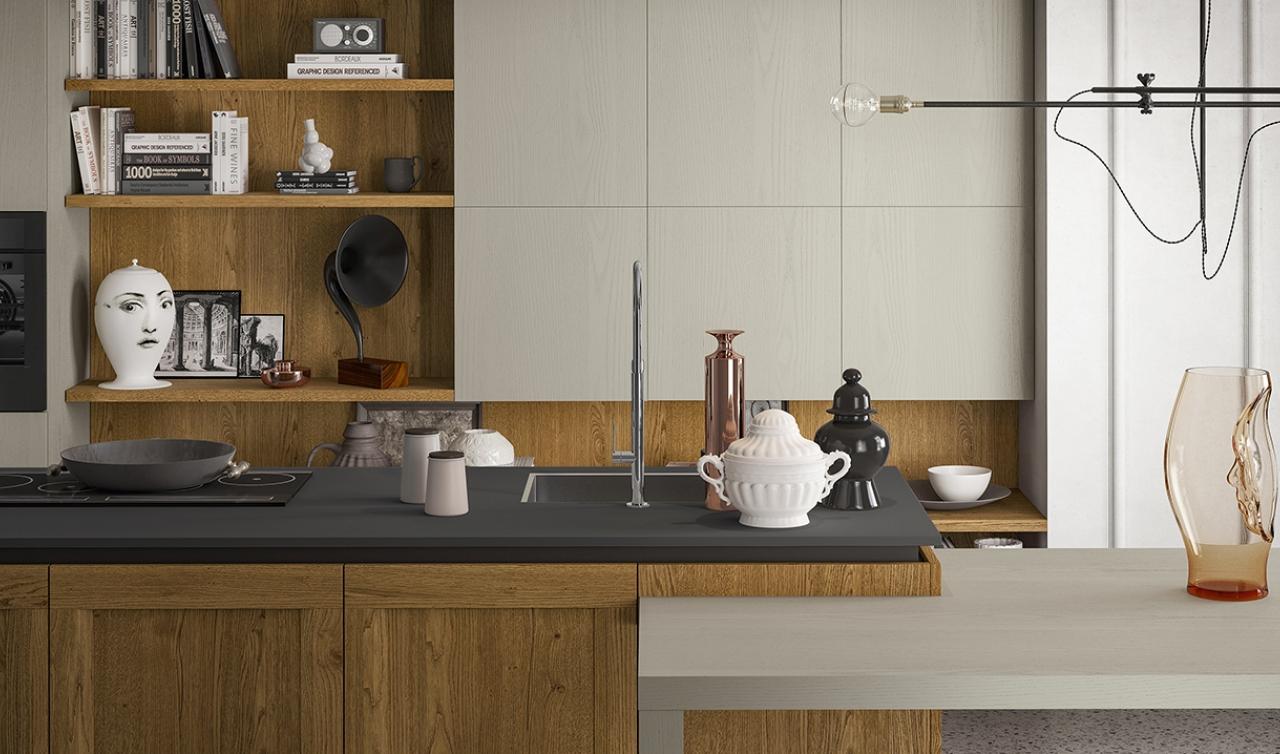 Modern Kitchen Arredo3 Asia Model 01 - 05