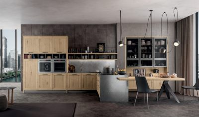 Modern Kitchen Arredo3 Asia Model 02 - 01