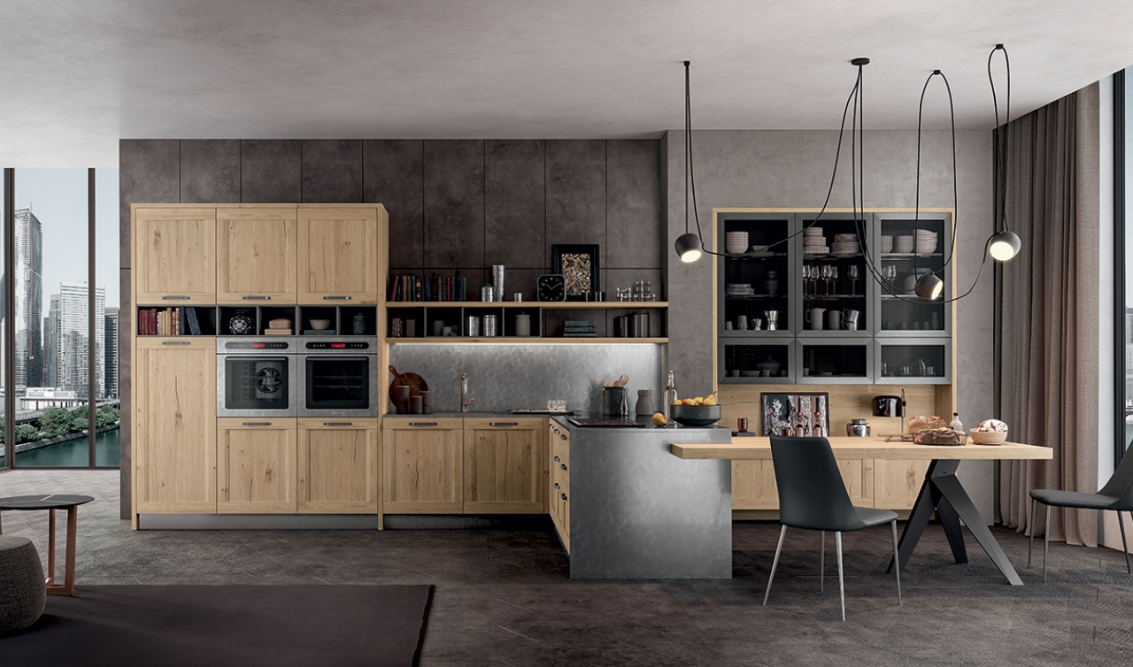 Modern Kitchen Arredo3 Asia Model 02