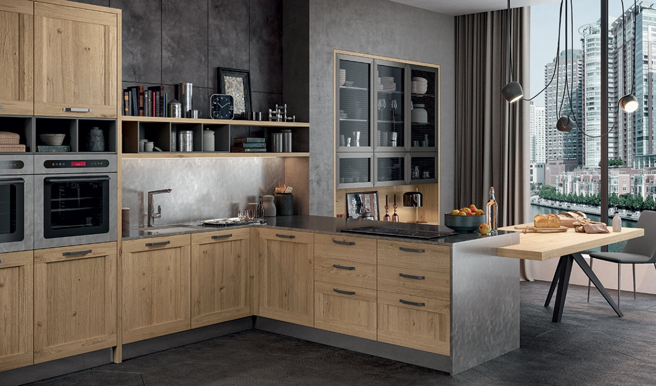 Modern Kitchen Arredo3 Asia Model 02 - 02