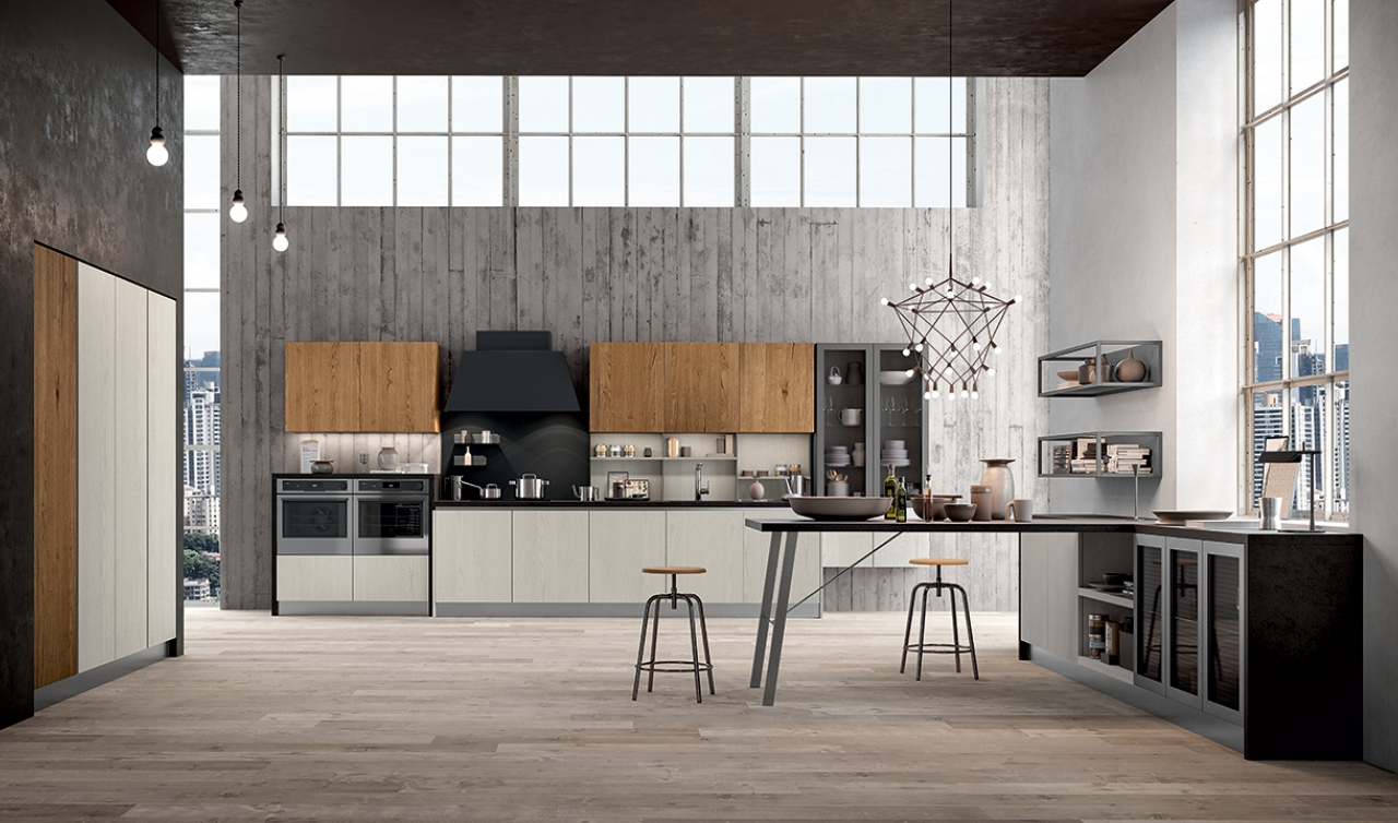 Modern Kitchen Arredo3 Asia Model 03