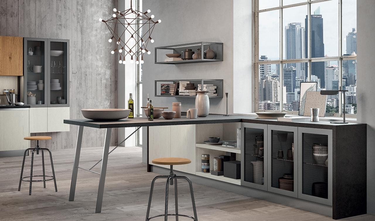 Modern Kitchen Arredo3 Asia Model 03 - 03
