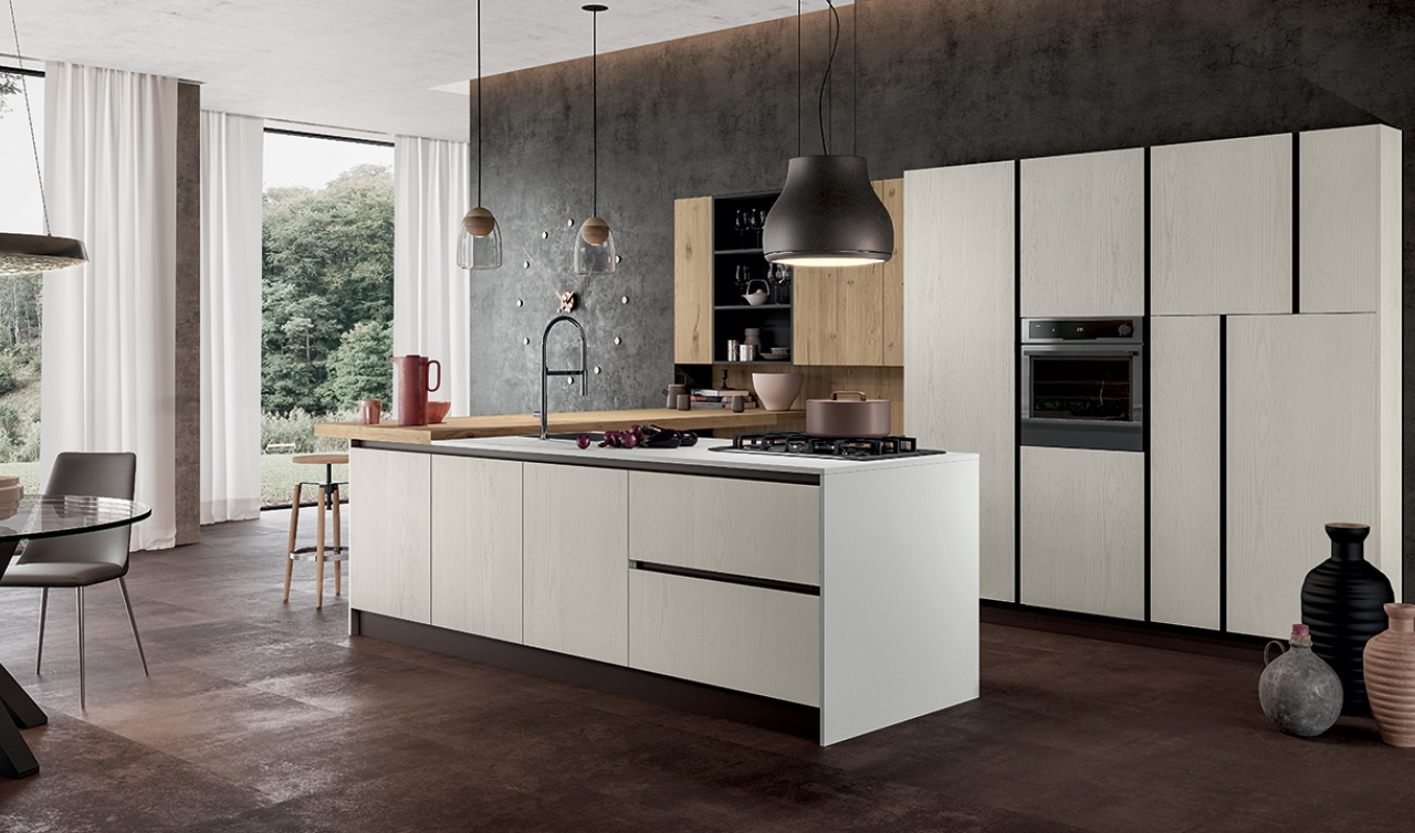 Modern Kitchen Arredo3 Asia Model 04