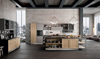 Modern Kitchen Arredo3 Asia Model 05 - 01