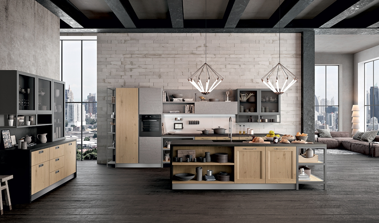 Modern Kitchen Arredo3 Asia Model 05