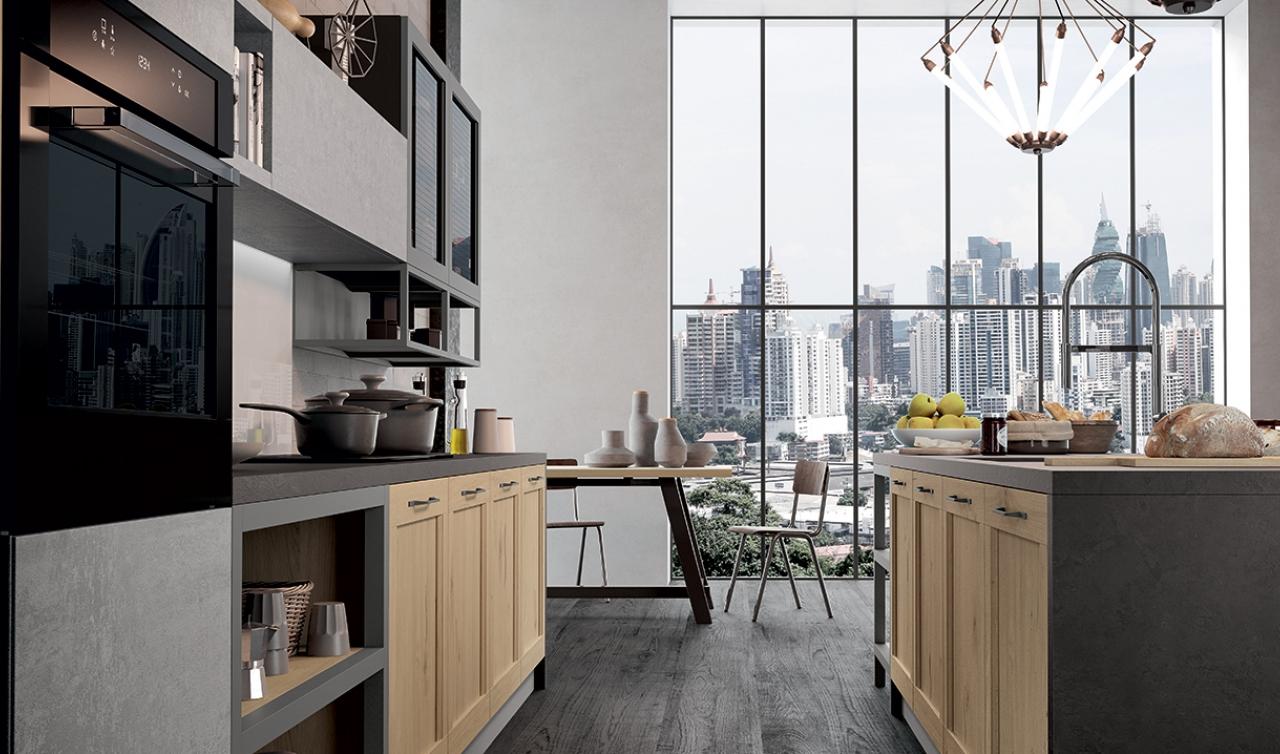 Modern Kitchen Arredo3 Asia Model 05 - 05