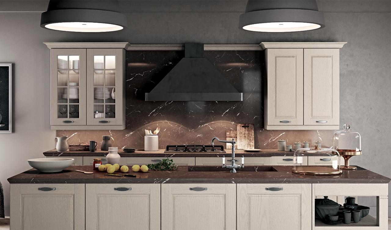 Classic Kitchen Arredo3 Asolo Model 01 - 02