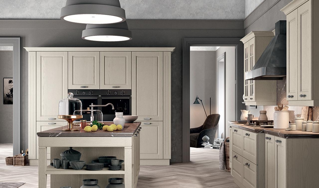 Classic Kitchen Arredo3 Asolo Model 01 - 04