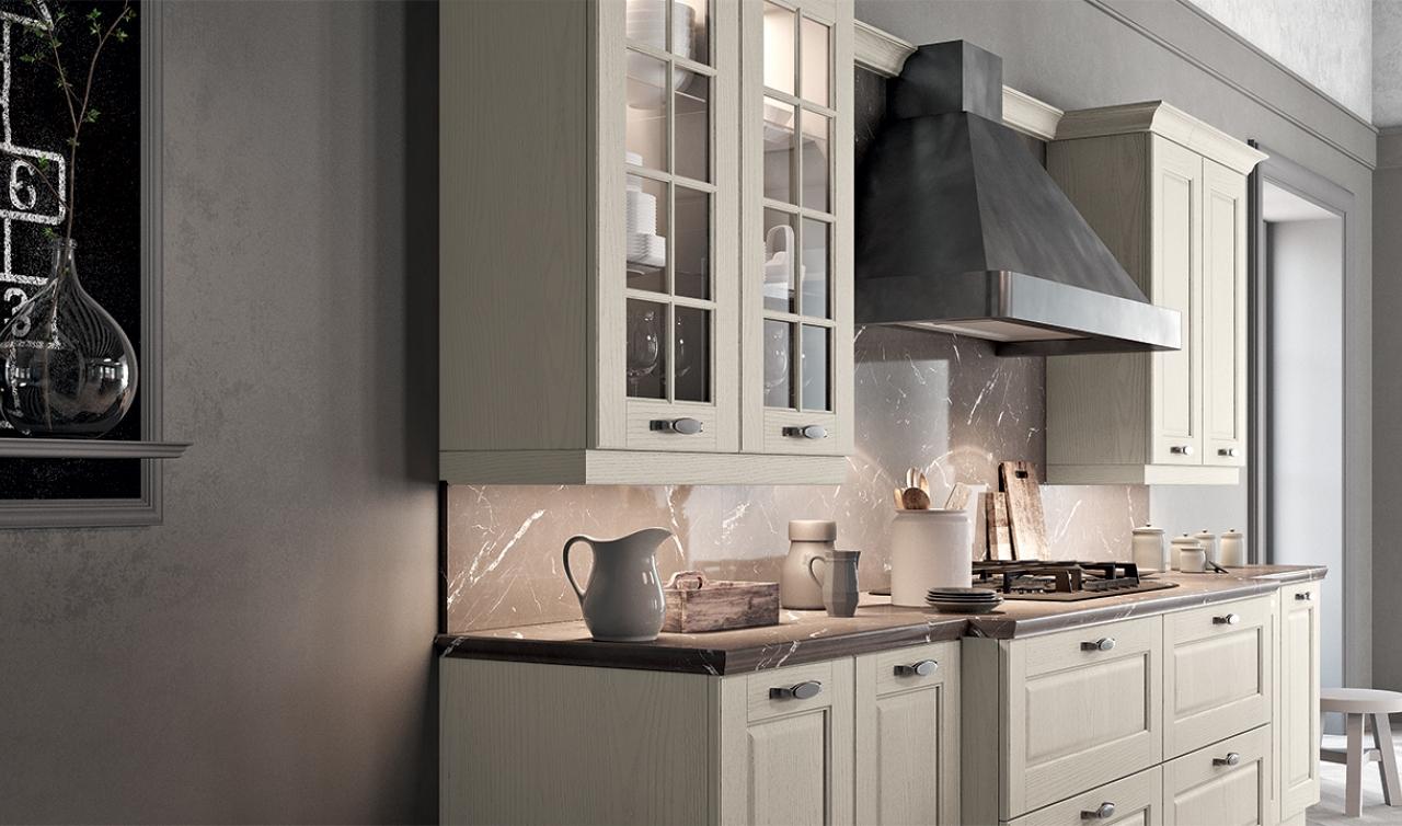 Classic Kitchen Arredo3 Asolo Model 01 - 05