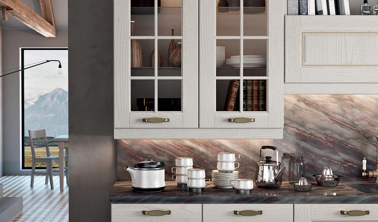 Classic Kitchen Arredo3 Asolo Model 02 - 02