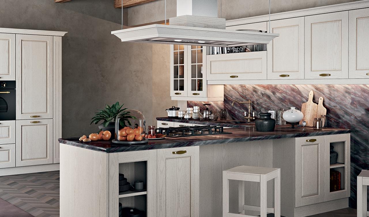 Classic Kitchen Arredo3 Asolo Model 02 - 04