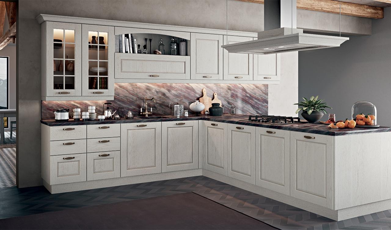 Classic Kitchen Arredo3 Asolo Model 02 - 05
