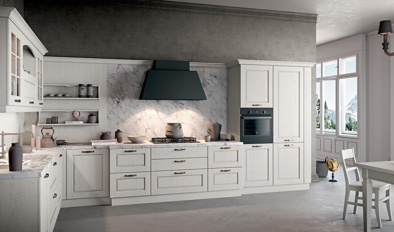 Classic Kitchen Arredo3 Asolo Model 03 - 02