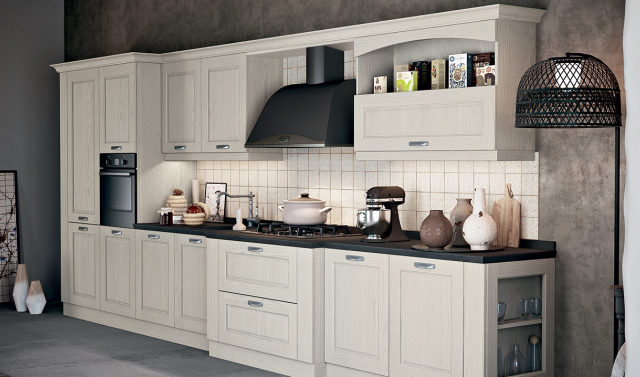 Classic Kitchen Arredo3 Asolo Model 04 - 02