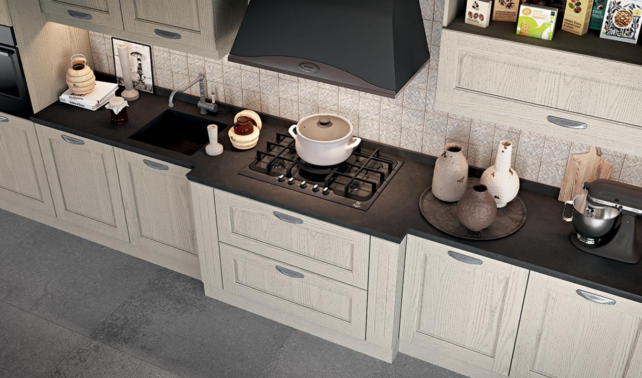 Classic Kitchen Arredo3 Asolo Model 04 - 03