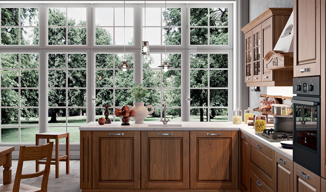 Classic Kitchen Arredo3 Asolo Model 05 - 02
