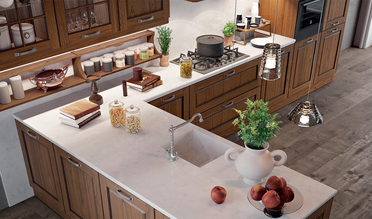 Classic Kitchen Arredo3 Asolo Model 05 - 03