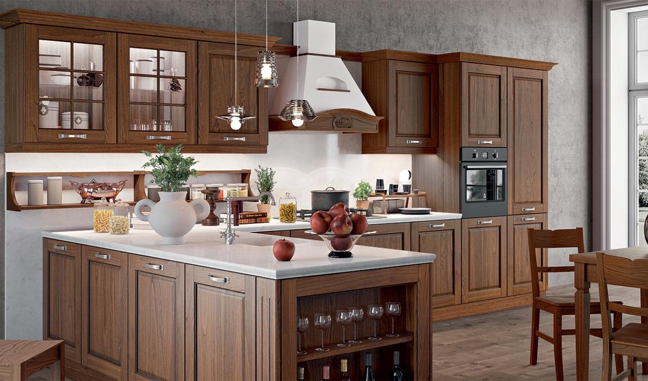 Classic Kitchen Arredo3 Asolo Model 05 - 04