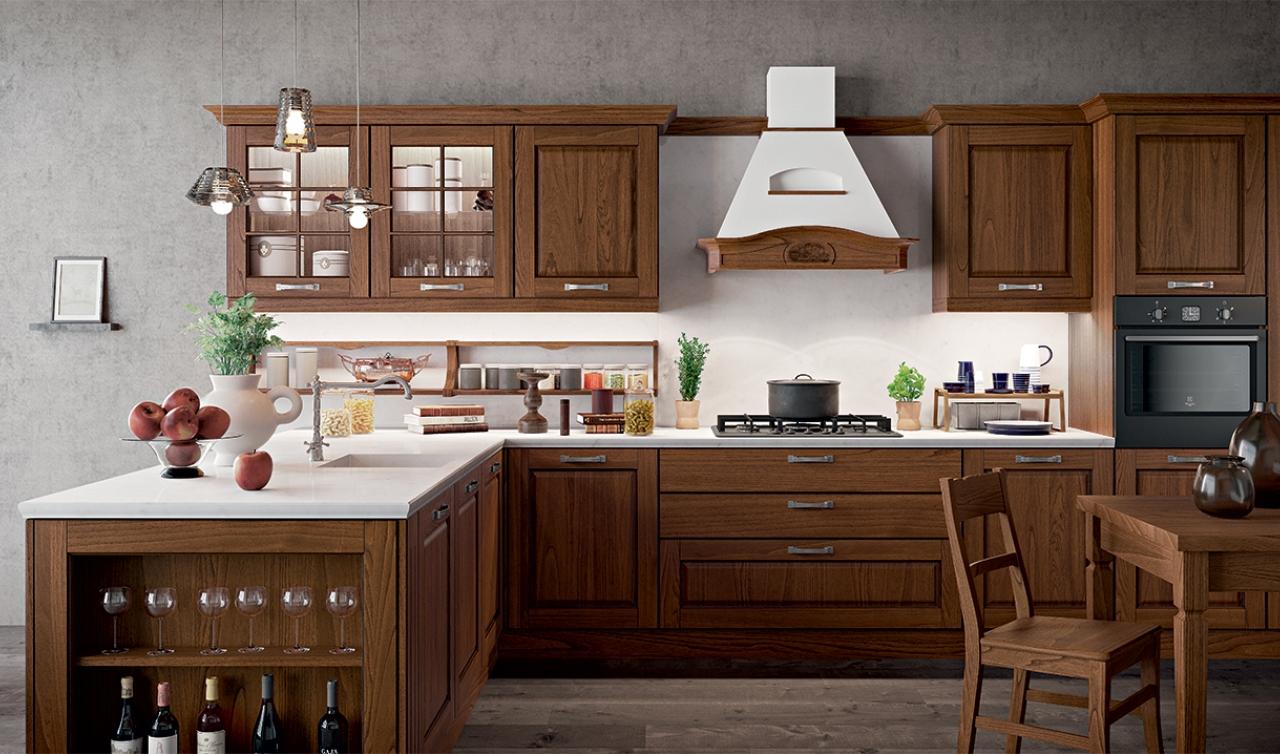 Classic Kitchen Arredo3 Asolo Model 05 - 05