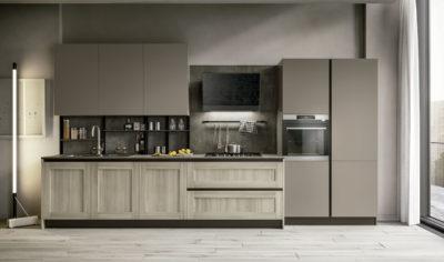 Modern Kitchen Arredo3 Cloe Model 1