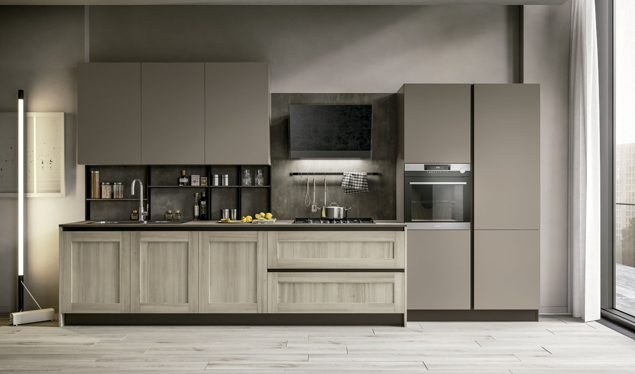 Modern Kitchen Arredo3 Cloe Model 1