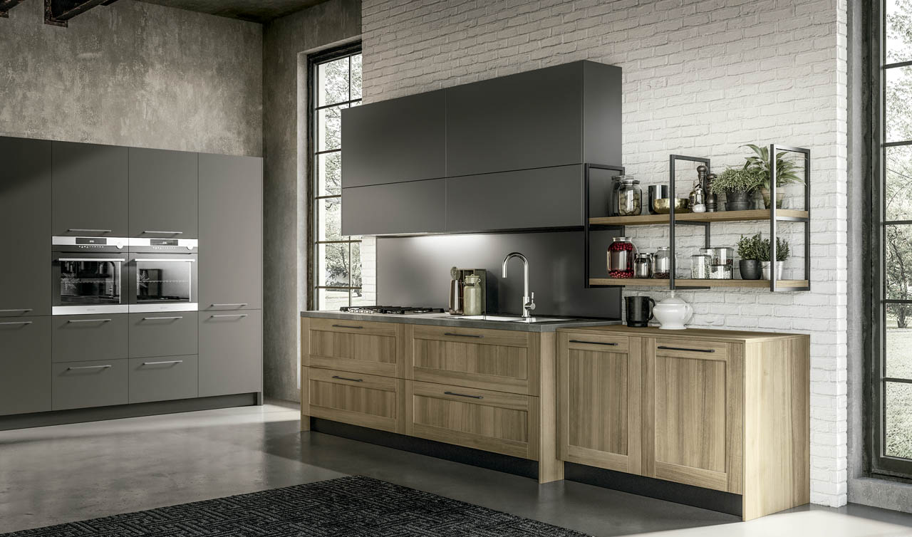 Modern Kitchen Arredo3 Cloe Model 2