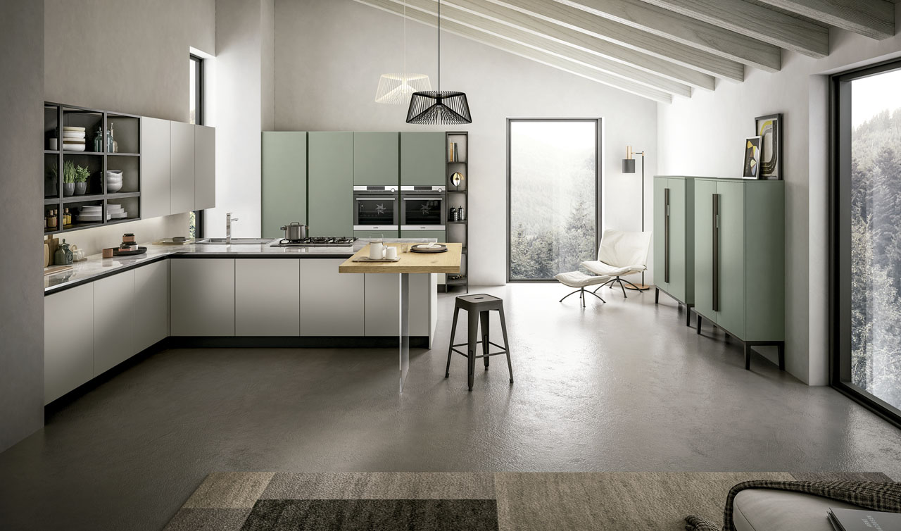 Modern Kitchen Arredo3 Cloe Model 3