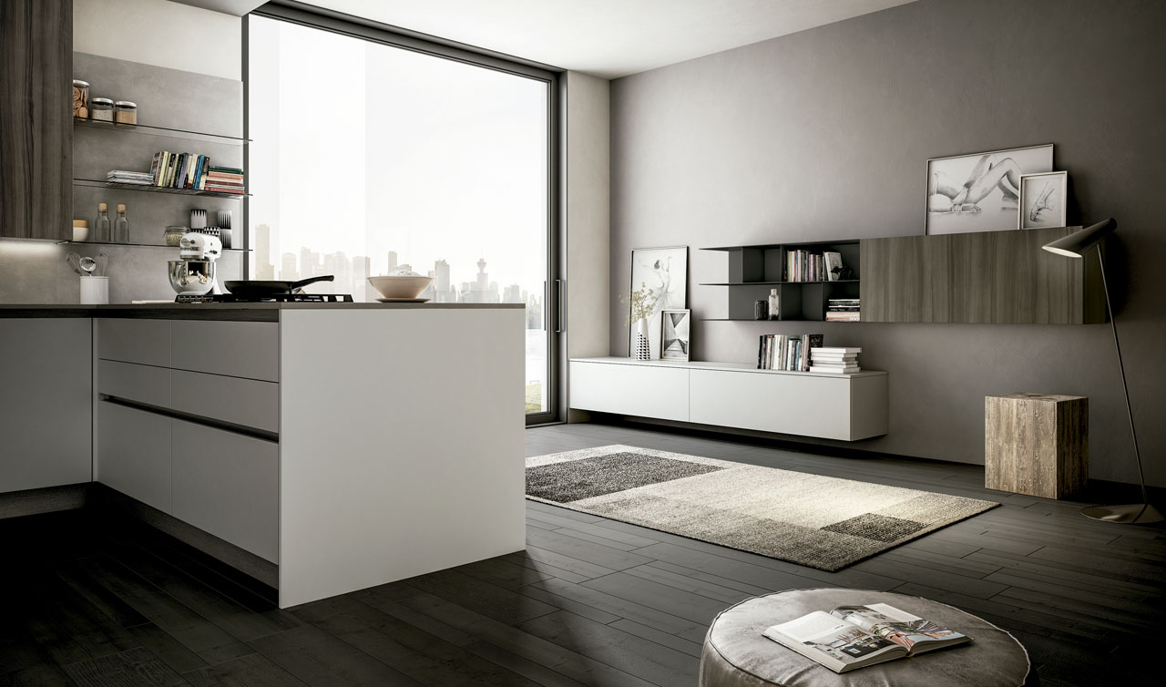 Modern Kitchen Arredo3 Cloe Model 4