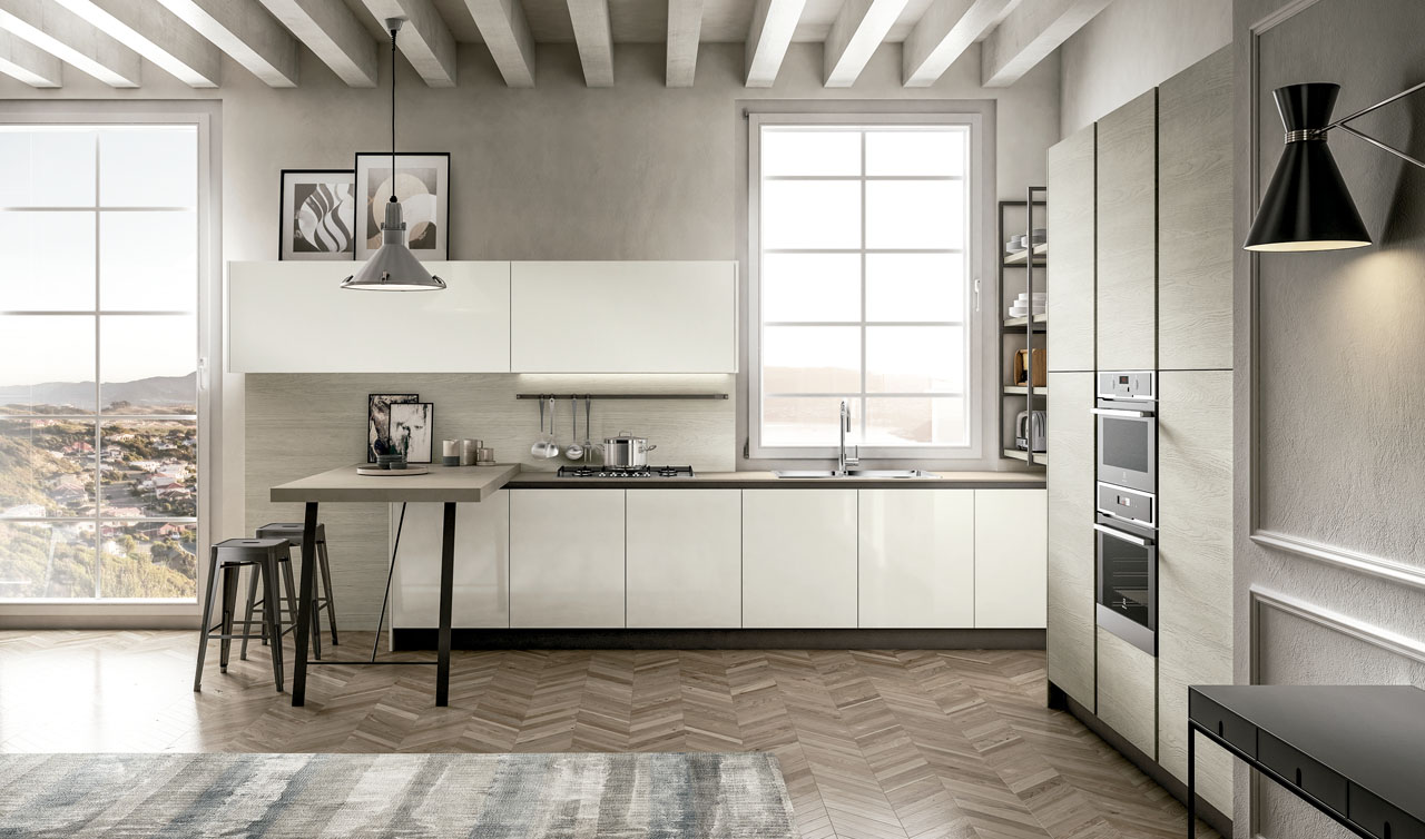 Modern Kitchen Arredo3 Cloe Model 5